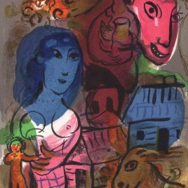 "Chagall Marc, ""Untitled – Homage to Chagall"""