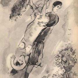 """Chagall Marc, """"Prodige opere par l'amour"""""""