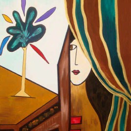 """Absi Grace, """"Behind the curtain"""",  Sold"""
