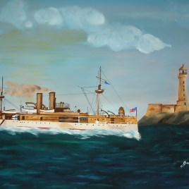 "Absi Grace, ""Battle ship Maine in Cuba""   Sold"