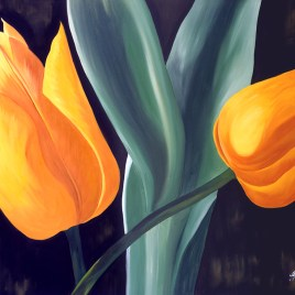 "Absi Grace, ""Yellow tulips"""