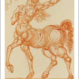 "Dali Salvardor, ""Hell 25 – Centaur"""