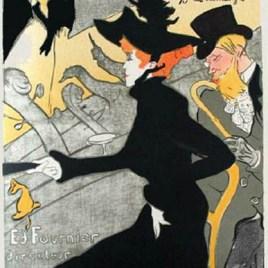 """Lautrec Henri de Toulouse, """"Divan Japonais"""""""