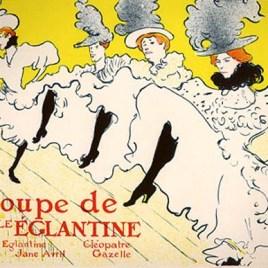 """Lautrec Henri de Toulouse, """"La Troupe de Mlle Eglantine"""""""