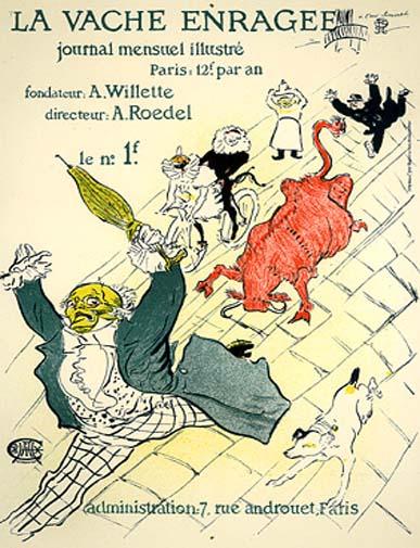 Lautrec_26_La vache_enragee