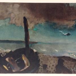 """Braque Georges, """"Marine a la moquette"""""""