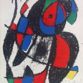 Miro Joan, Untitled 2, Pencil Signed, Numbered # 51/150