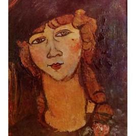 "Modigliani Amedeo, ""Head of woman in hat"""
