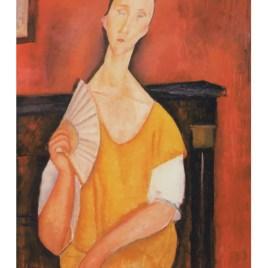 """Modigliani Amedeo, """"Portrait of Lunia Czechowska"""""""