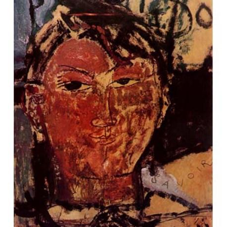 Modigliani_18_Portrait_of_Picasso