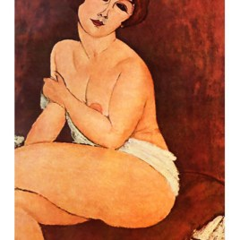 "Modigliani Amedeo, ""Seated nude 1917"""