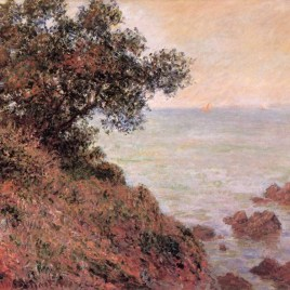 "Monet Claude, ""Seashore on the Mediterranean"""