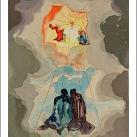 "Dali Salvardor, ""Paradise 15 – Dante s ecstacy"""