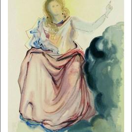 "Dali Salvardor, ""Paradise 4 – Beatrice's splendor"""