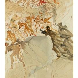 "Dali Salvardor, ""Purgatory 25 – Climbing the seventh terrace"""