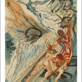 "Dali Salvardor, ""Paradise 26 – Dante regains his sight"""