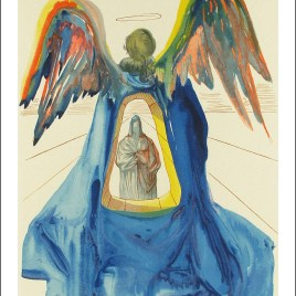"Dali Salvardor, ""Purgatory 33 – Dante purified"""