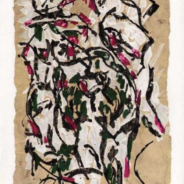 "Riopelle Jean-Paul, ""Untitled – DM23"""