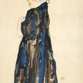 """Schiele Egon, """"Peasants girl"""""""