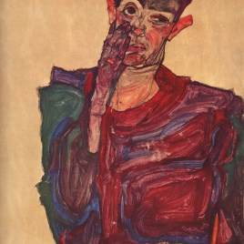 "Schiele Egon, ""Self Portrait 1910"""