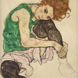 "Schiele Egon, ""The artists wife"""