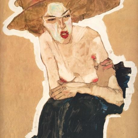 Schiele_6_the_spiteful_one_1910
