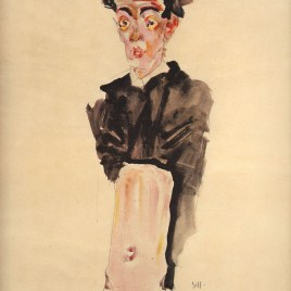 "Schiele Egon, ""Self portrait"""