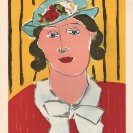 "Matisse Henri, ""Femme au chapeau"""