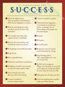 21 suggestions for success poster in dentist chair
