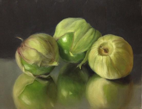 green tomatillos