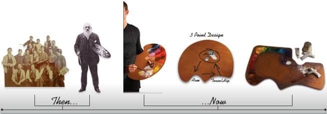 artist palette handheld