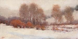 Winter Colors Up Trailcreek 12x24 ©2015 LMcNee