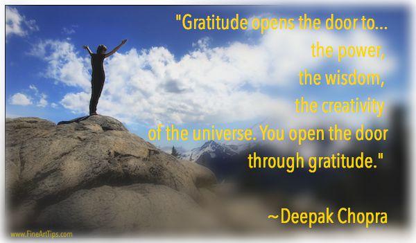 The Relationship Between Gratitude and Creativity