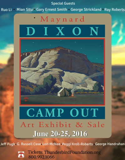 Maynard Dixon Camp Out
