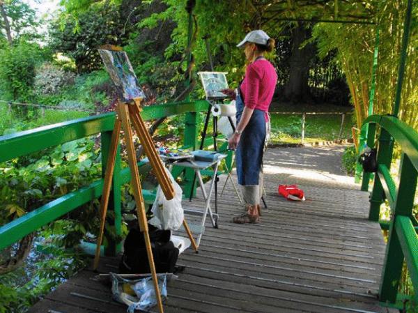 Paint in Monet's Garden with Lori McNee