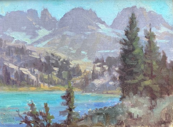 Plein air painting ©LoriMcNee