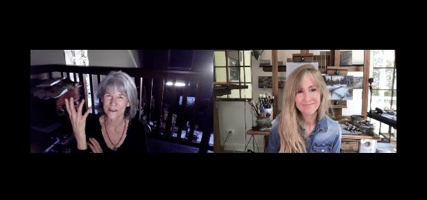 Sherrie McGraw artist interviewed by Lori McNee