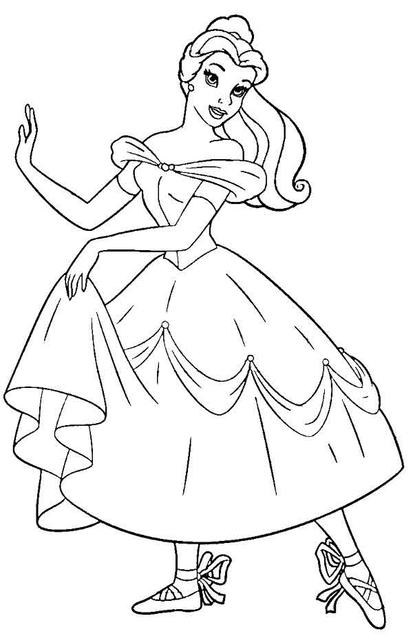 10 Best Free Printable Ballerina Coloring Pages For Kids