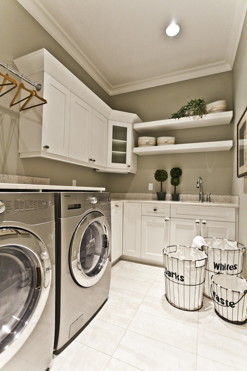 Small Space Laundry Room Ideas :: 7 Inspirations on Small Laundry Ideas  id=95811