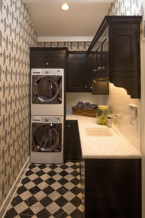 Small Space Laundry Room Ideas :: 7 Inspirations on Small Laundry Ideas  id=96919