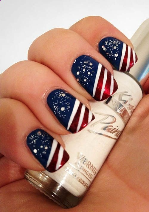 Stars N Stripes 10 Of The Best Designs For Fourth July Nail Art