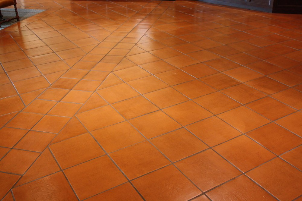 saltillo tile indoors use mexican home