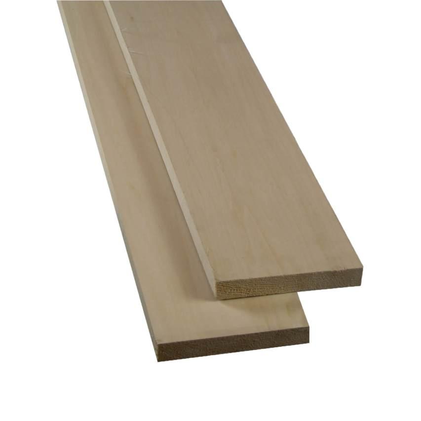 4/4 Basswood 10 bd. ft. Fine Craftsman Value Pack