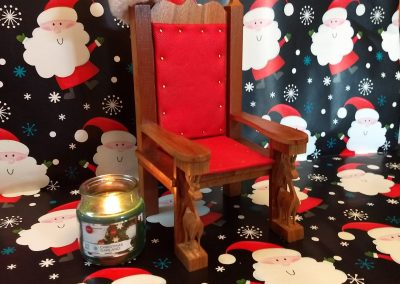 Miniture Santa chair by Stan Ocarz