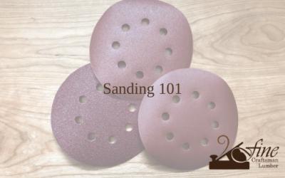 Sanding 101