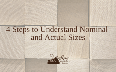 4 Steps to Understand Nominal and Actual Sizes