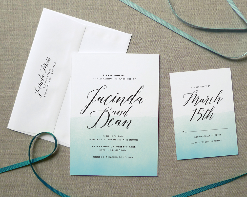 Blank Wedding Invitation Paper Wholesale