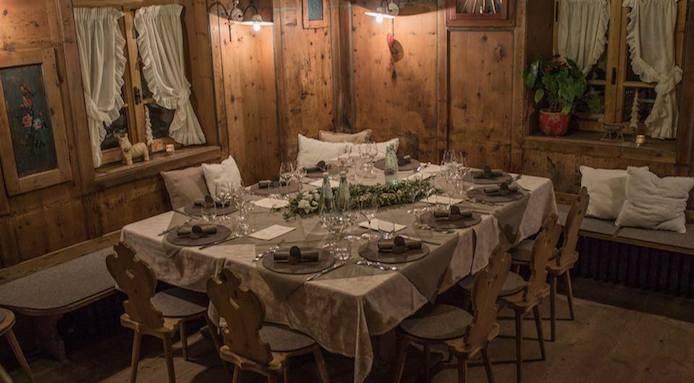 Quella che godrete facendo visita alla cucina di riccardo gaspari, giovane chef che ha avuto il merito di trasformare l'agriturismo di famiglia in un piccolo paradiso per gourmet El Brite De Larieto Agriturismo El Brite A Cortina D Ampezzo
