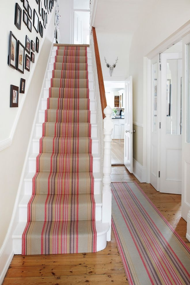 Replacing Carpet On Stairs With Contemporary Staircase Also Black   Contemporary Carpets For Stairs   Green   Trendy   Stylish   Stair Runner   Victorian