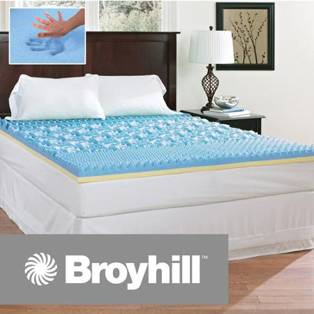 Queen Size 3 Broyhill Comfort Temp Gel Mattress Topper